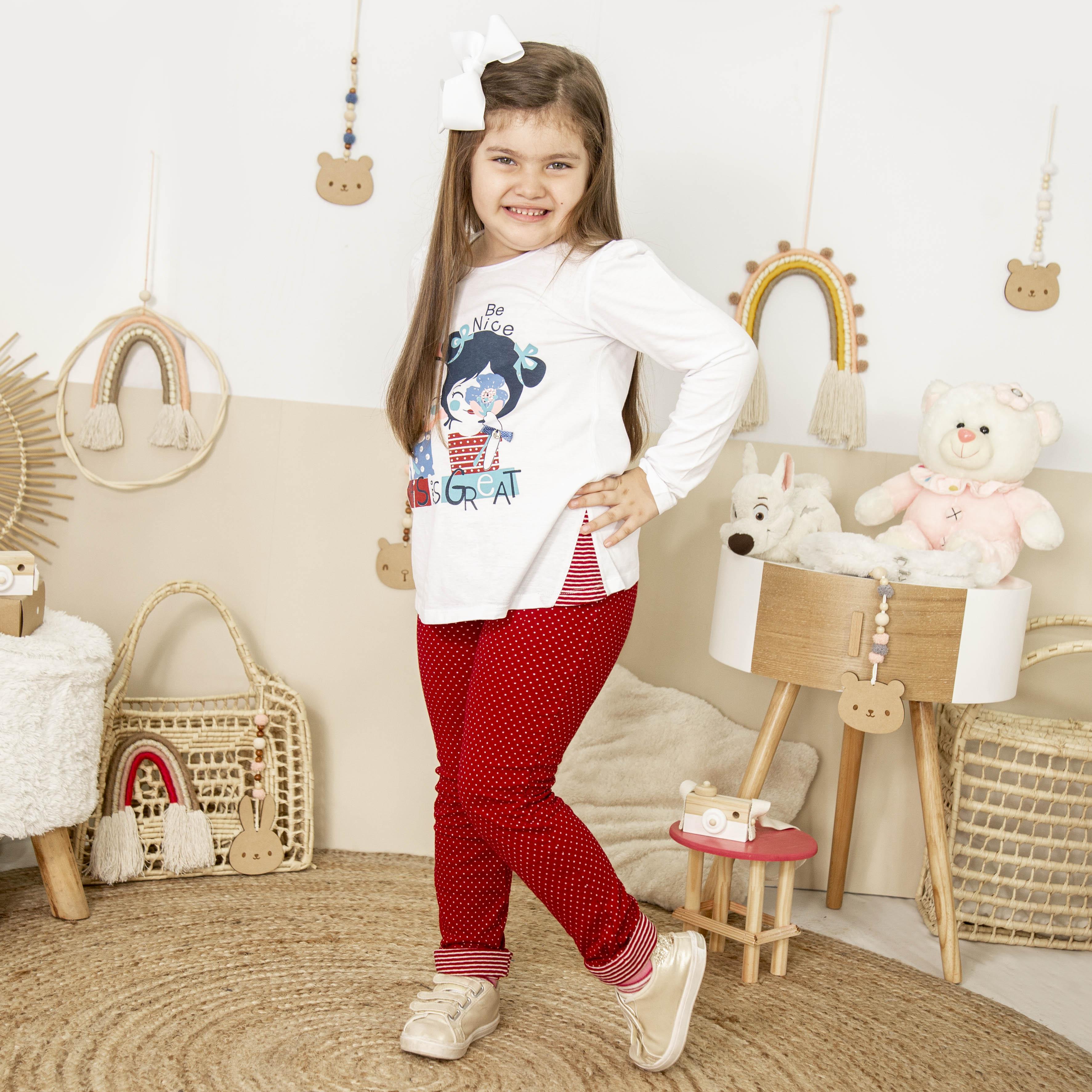 Conj. Pantalon con Remera Cod. 319C3128