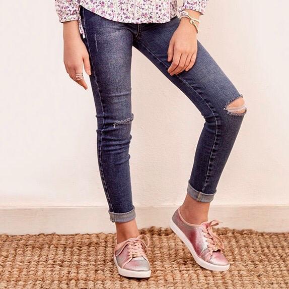 Jeans Teen Rasgado Cod. 1200063
