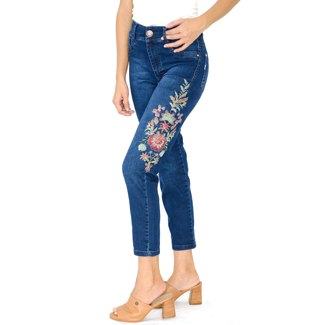 Cropped Dama Jeans Cod 1190029