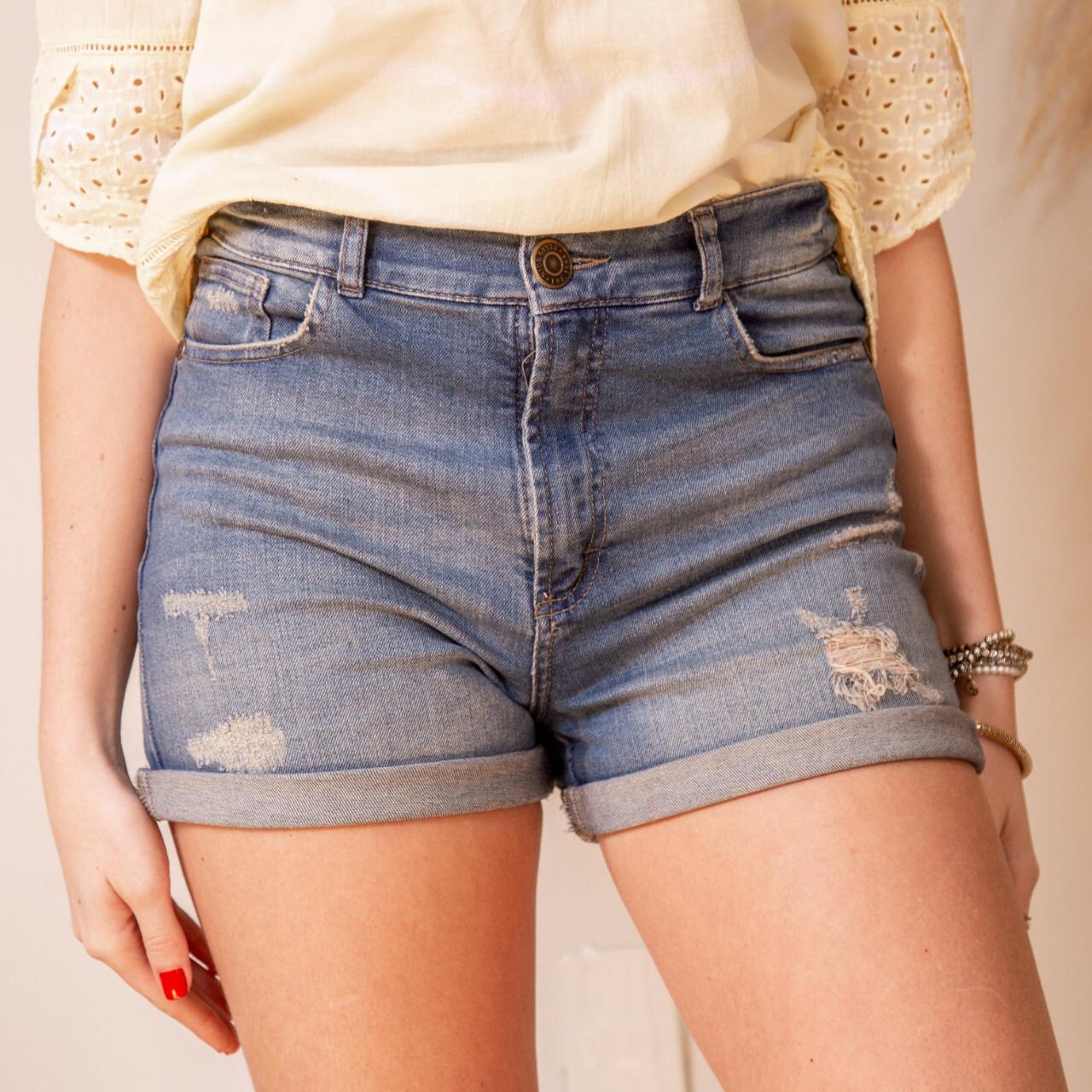 Short Jeans Rasgado Cod. 1200181