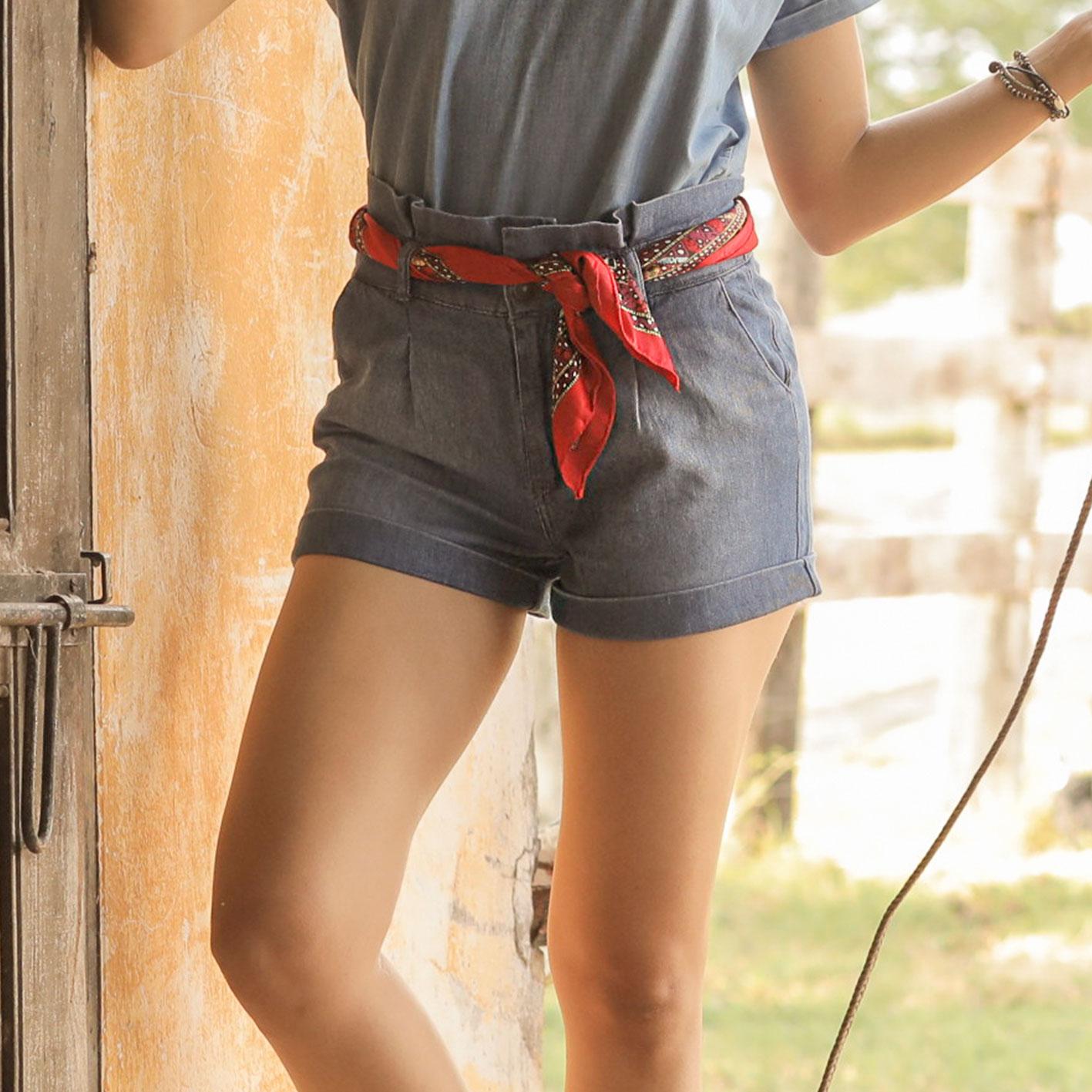 Short Paperbag Jeans Cod. 1200279