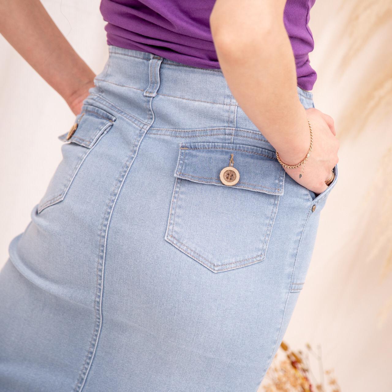 Pollera Jeans Cod. 1190052