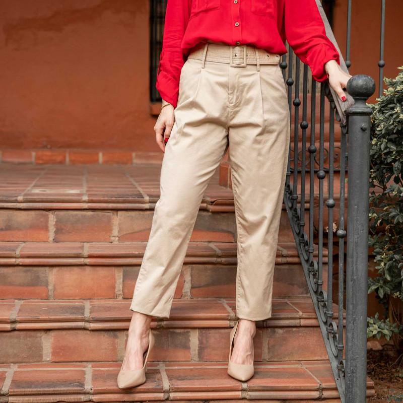 Pantalon Slouchy Beige Cod. 1210158