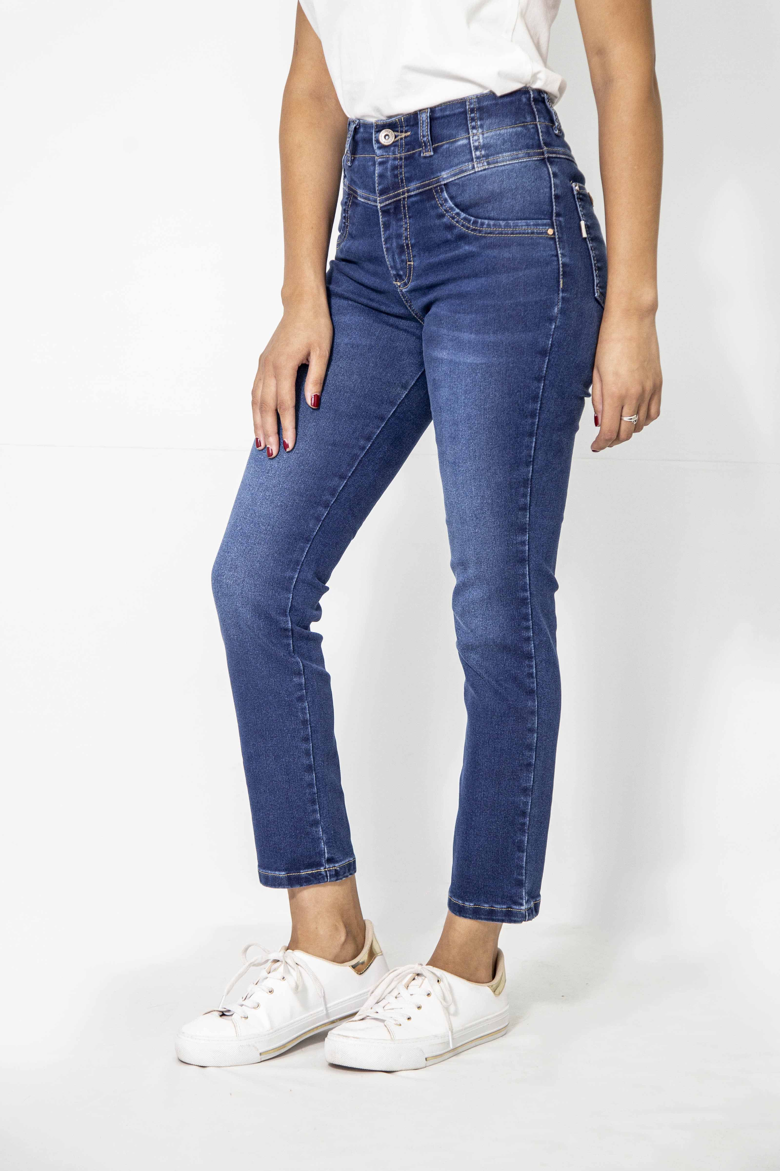 Cropped Dama Jeans Elast. Cod. 1190652