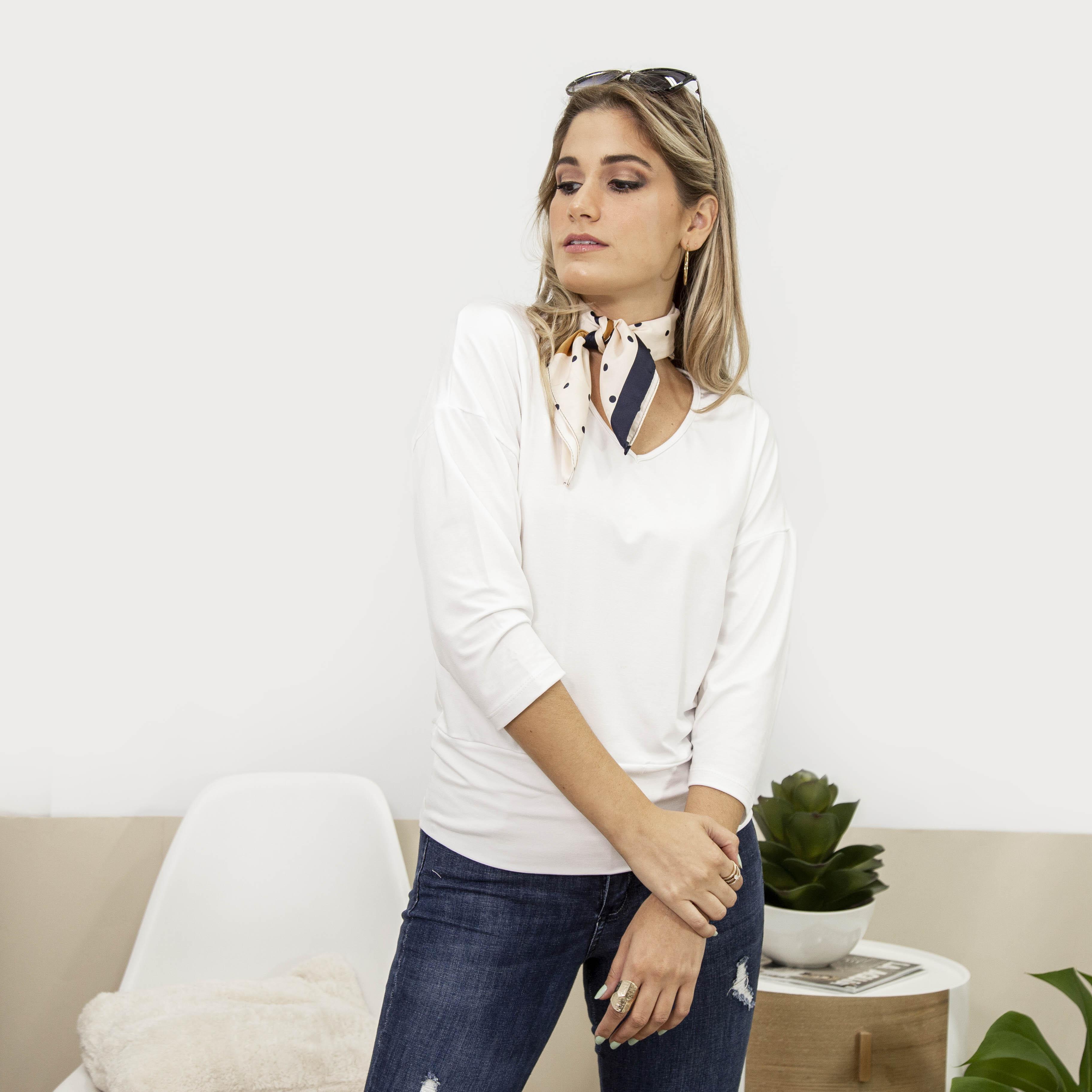 Remera Blanca Cod. 220085