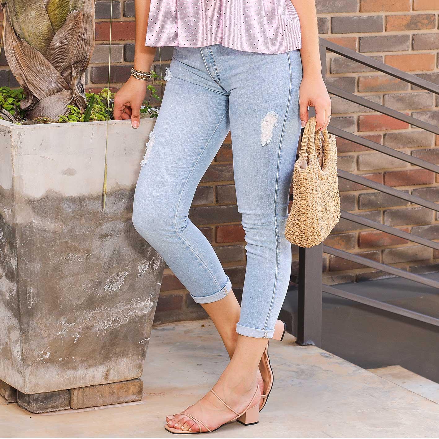 Cropped Jeans Rasgado Cod. 1210051