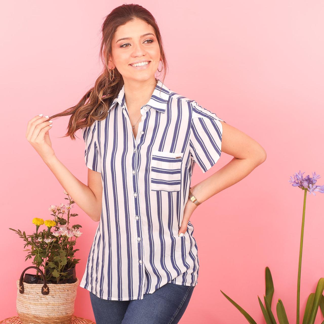 Camisa Rayas Cod. 220289