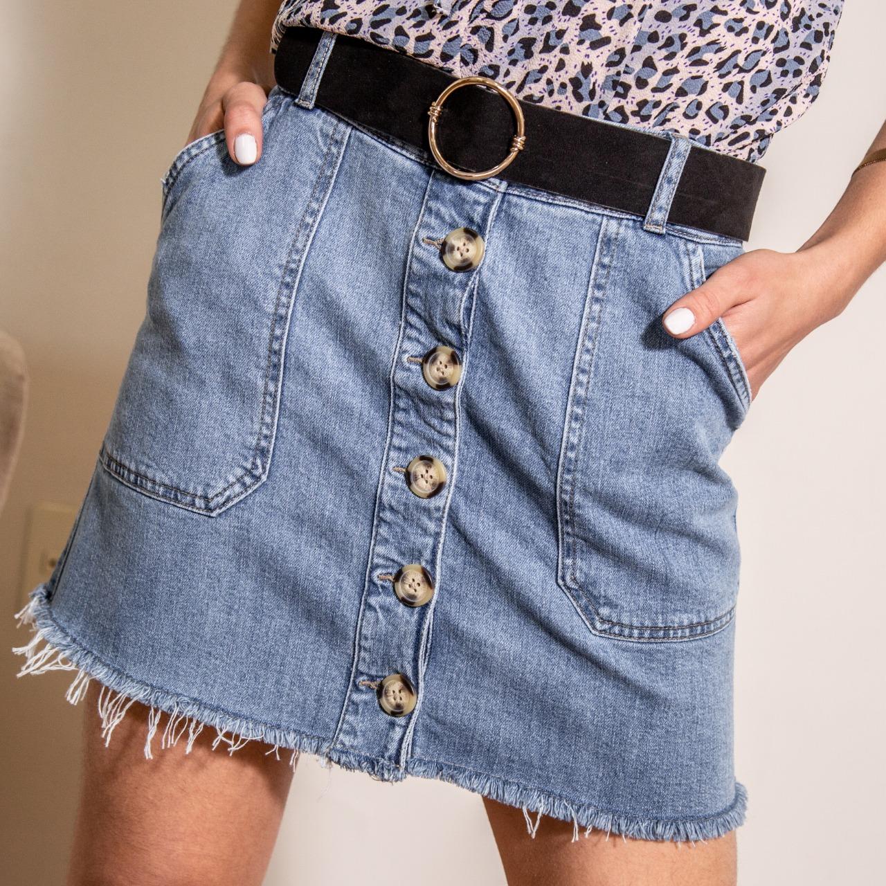 Mini Jeans c/ Botones Cod. 1190317