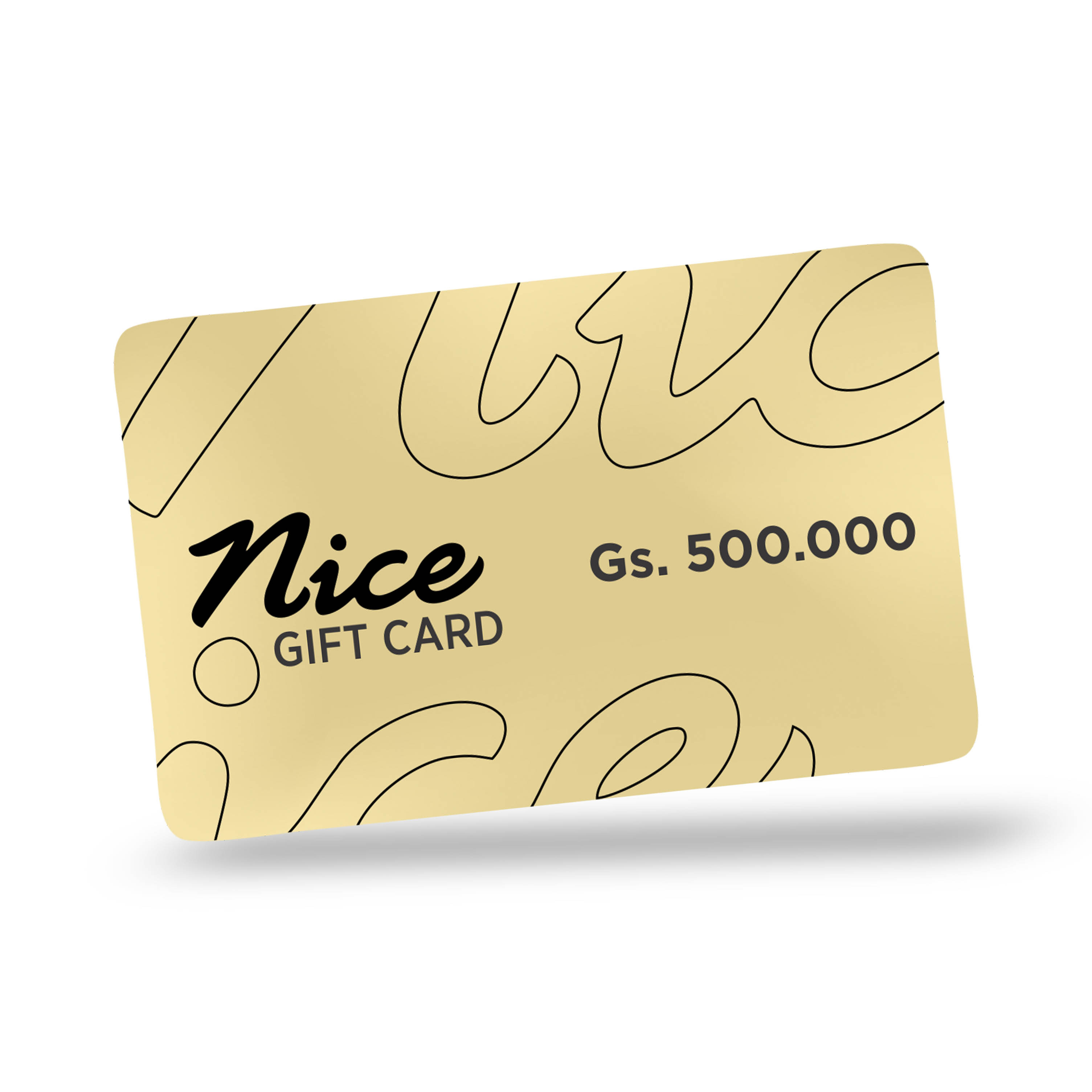 Gift Card Gs. 500.000