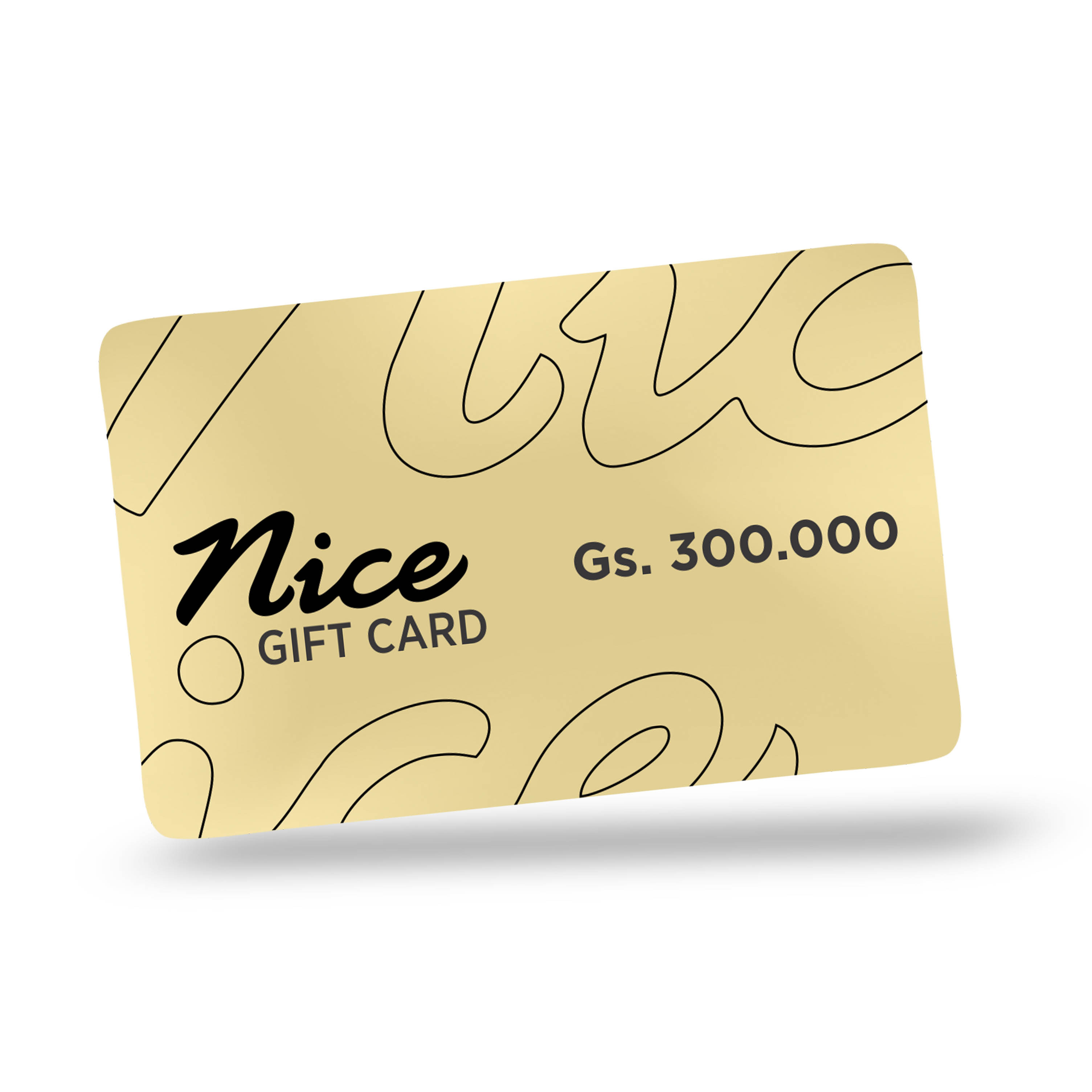 Gift Card Gs. 300.000